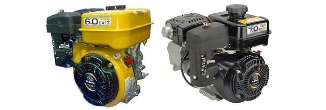 Моторы Субару Робин ЕХ 17 и ЕХ 21 DH
