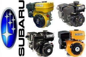 Лучшие двигатели Субару для мотоблока: какой выбрать