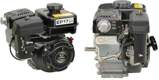 Двигатель Subaru EP 17 OHC