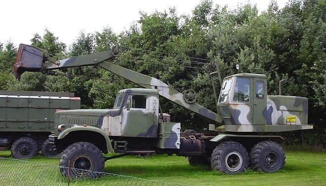Экскаватор КрАЗ-255