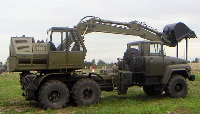 Экскаватор КрАЗ-260