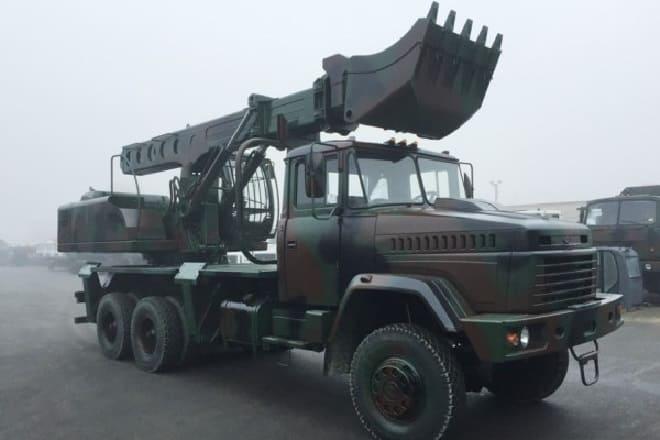Экскаватор КрАЗ-6322