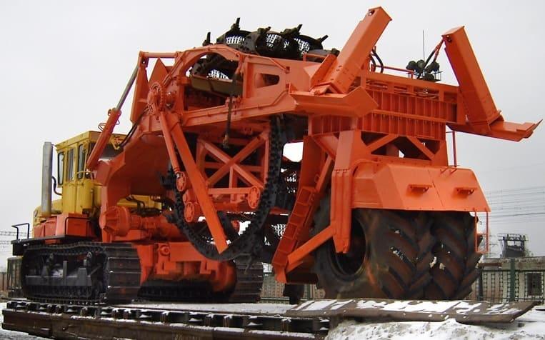 Экскаватор траншейный роторный ЭТР-254