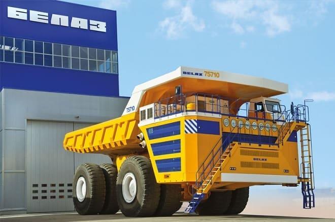 Гидравлический экскаватор БелАЗ 75710