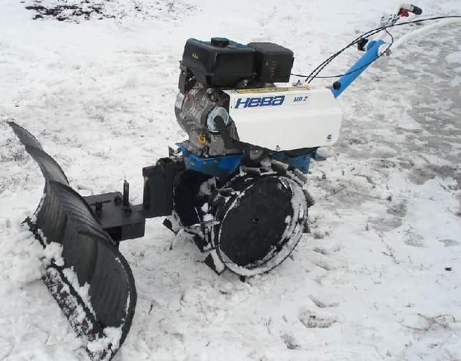 Лопата для снега на мотоблок своими руками