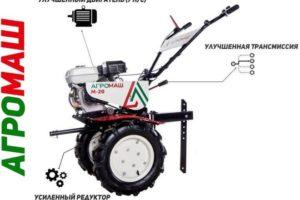 Мотоблоки Агромаш М-20 (М-21): технические характеристики, отзывы владельцев, недостатки