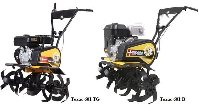 Мотоблоки Техас 601 TG и 601 B
