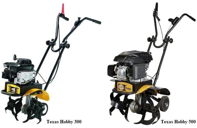 Мотоблоки Texas Hobby 500 и 300