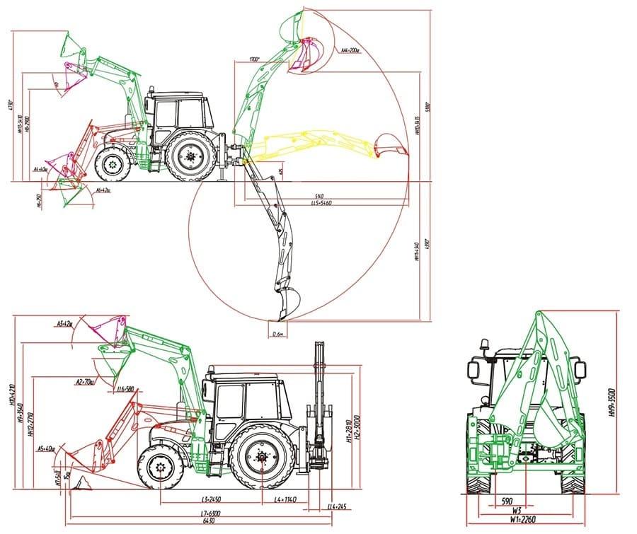 Технические характеристики ДЭМ-114-2