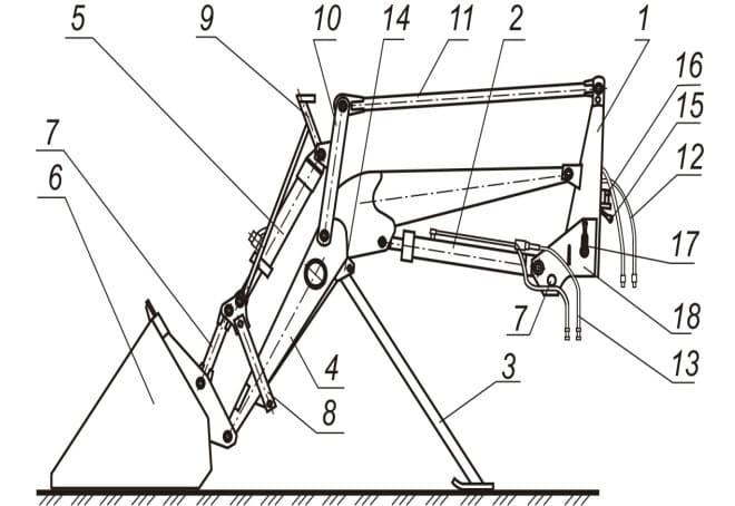 Как сделать экскаватор своими руками чертеж фото 21