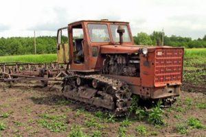 Описание и технические характеристики трактора Т-4 Алтаец
