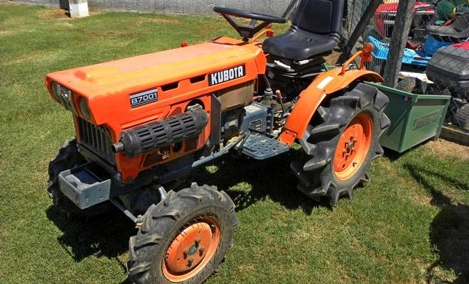 Дизельный мини трактор