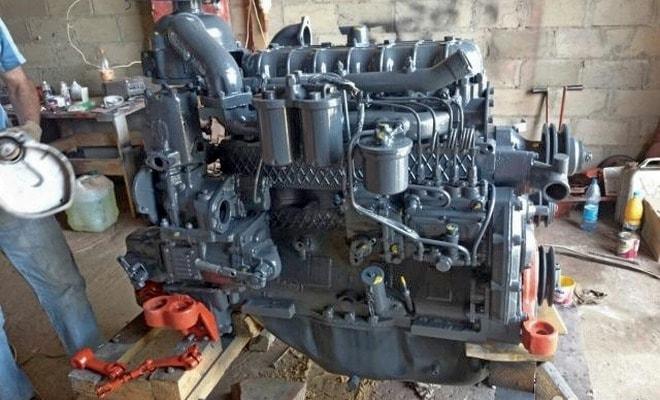 Двигатель после ремонта