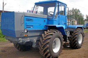 Характеристики гусеничных и колесных тракторов Т-150