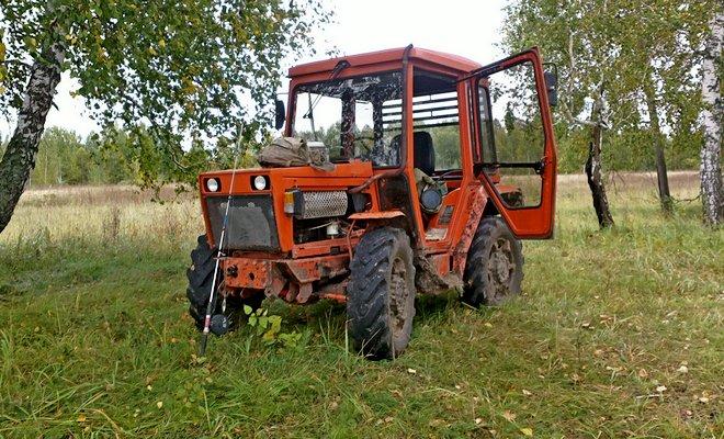Кировский мини-трактор