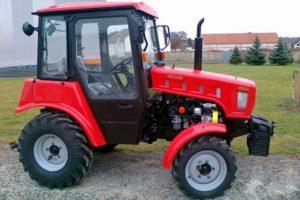 Описание и технические характеристики трактора МТЗ-320