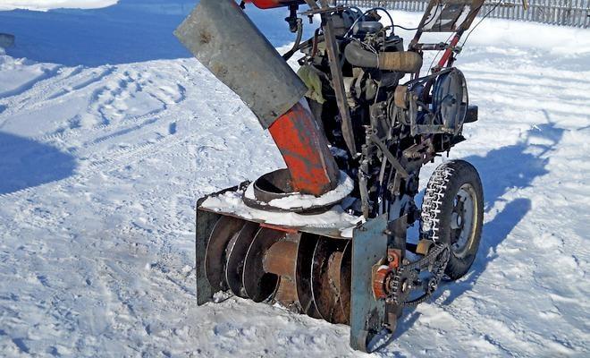Корпус снегоуборщика