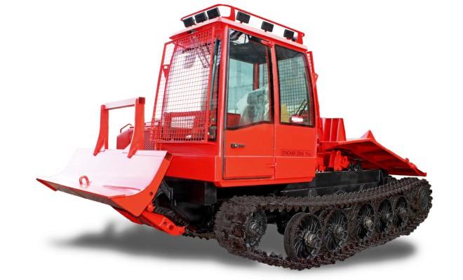 Лесопромышленный трактор
