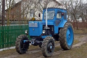 Описание и технические характеристики простого в обслуживании трактора Т-40