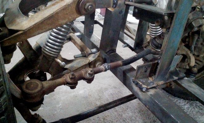 Механизм руля