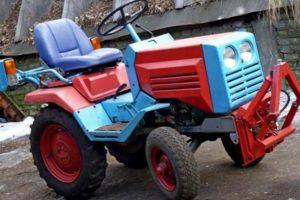 Достоинства и недостатки мини-трактора КМЗ-012