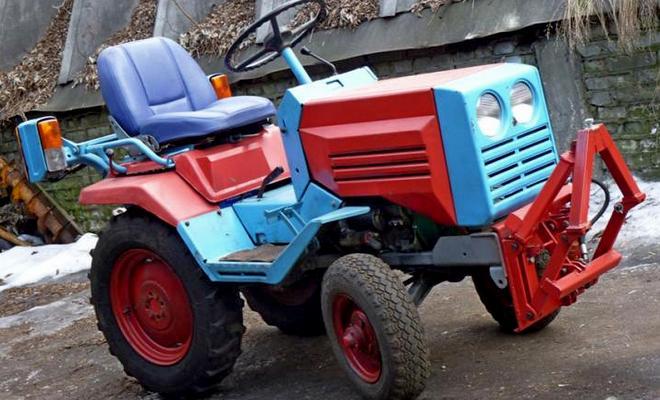 Мини трактор универсальный