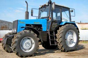 Устройство и технические характеристики трактора МТЗ Беларус-1221