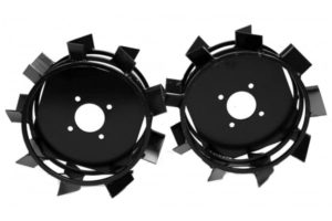 Как сделать грунтозацепы для мотоблока своими руками из автомобильных дисков: чертежи и размеры, описание