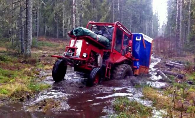 Модернизация трактора