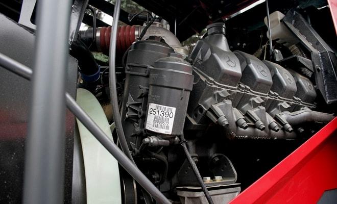 Мощный мотор