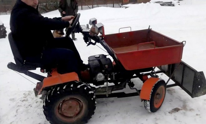 Мотоблок из Белоруссии