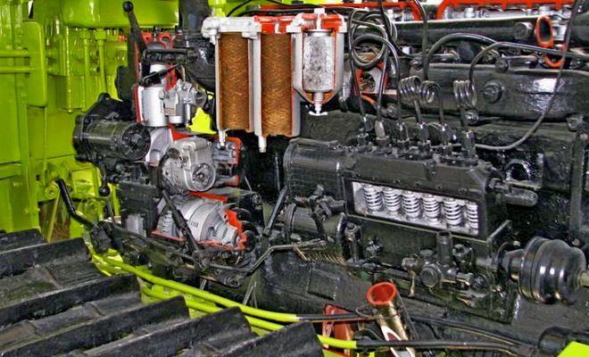 Мотор АТЗ Т-4