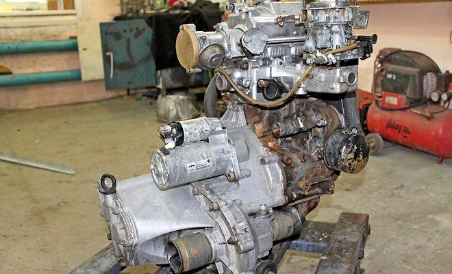 Мотор из Оки