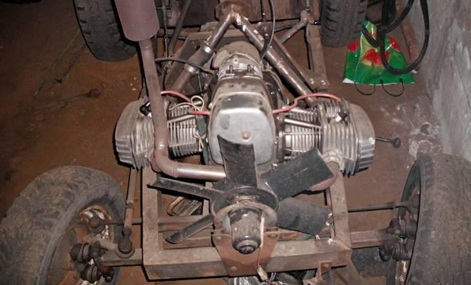 Передняя часть трактора