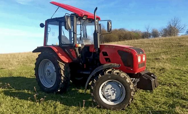 Пропашной трактор