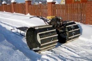 Как сделать снегоход из мотоблока своими руками: чертежи и размеры, фото, видео, описание