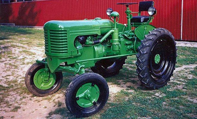 Раритетный трактор
