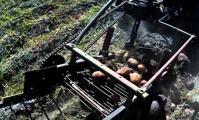 Как сделать картофель копалку своими руками видео