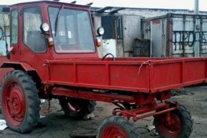 Технические характеристики и особенности трактора Т-16