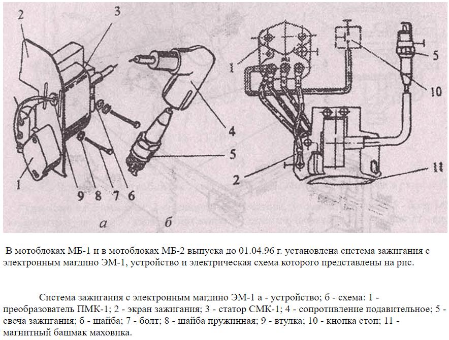 Система зажигания ДМ-1Д
