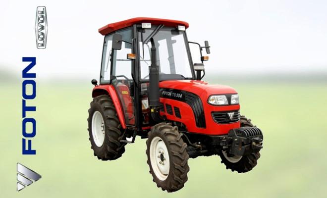 Современный трактор