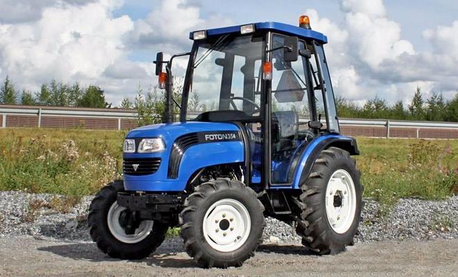 Трактор из Китая