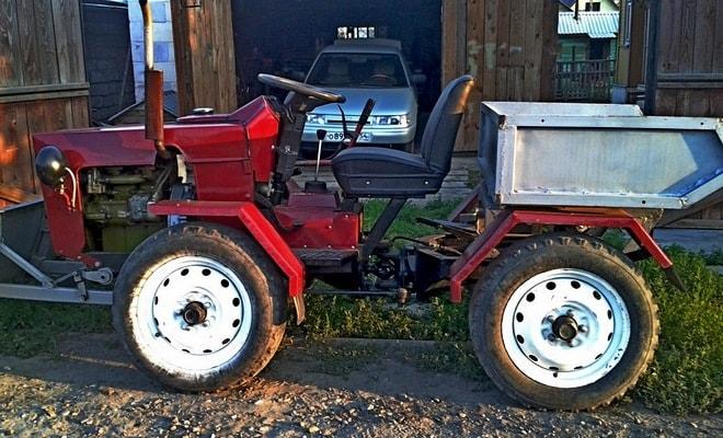 Трактор изготовленный самостоятельно