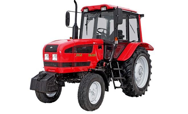 Трактор колесного типа