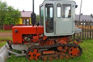 Технические характеристики и особенности трактора Т-70