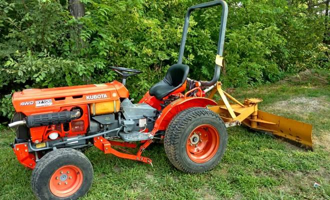 Трактор на механической КПП