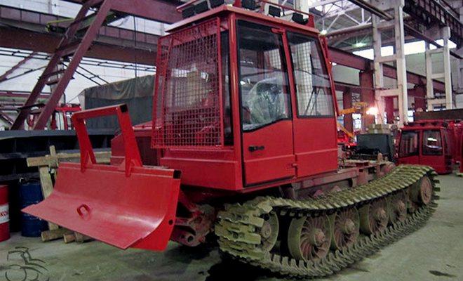Обзор трелевочных тракторов Онежец