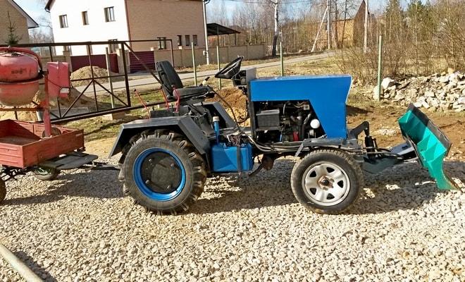 Трактор-самоделка