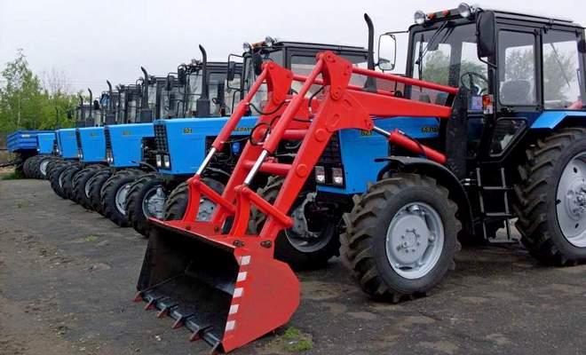 Трактор серии 82