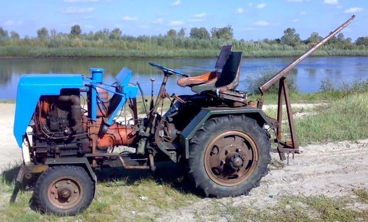 Трактор своими руками
